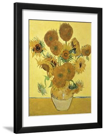 Vase of Fifteen Sunflowers  c.1888