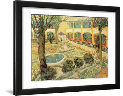 The Asylum Garden at Arles  c.1889