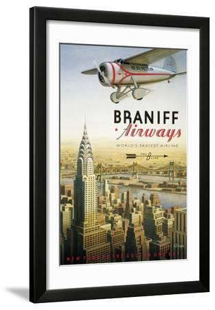 Braniff Airways  Manhattan  New York