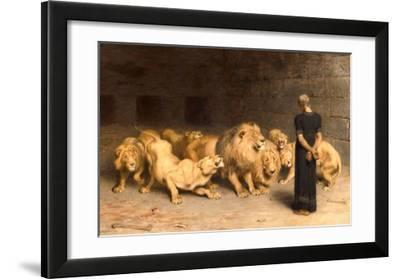 Daniel in the Lions' Den  1872