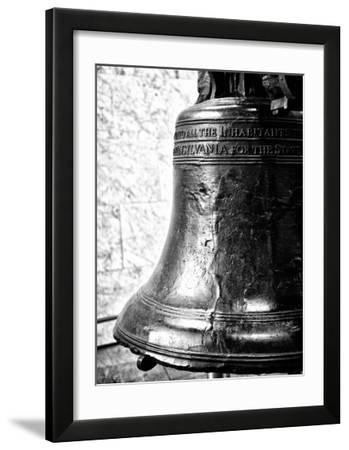 The Liberty Bell  Philadelphia  Pennsylvania  United States  Black and White Photography