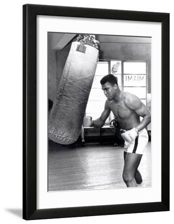 Muhammad Ali Training at the 5th Street Gym  Miami Beach  27 September 1965