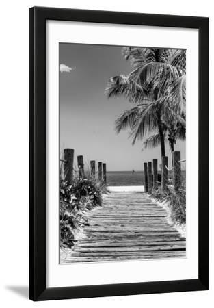 Boardwalk on the Beach - Key West - Florida