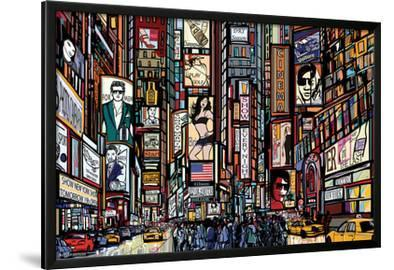 ILLUSTRATED TIMES SQUARE