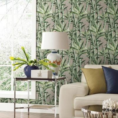 Lucky Bamboo Removable Wallpaper