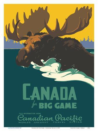 Canada for Big Game - Canadian Pacific Railway