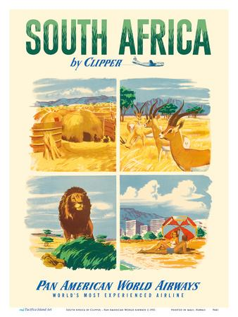South Africa by Clipper - Pan American World Airways