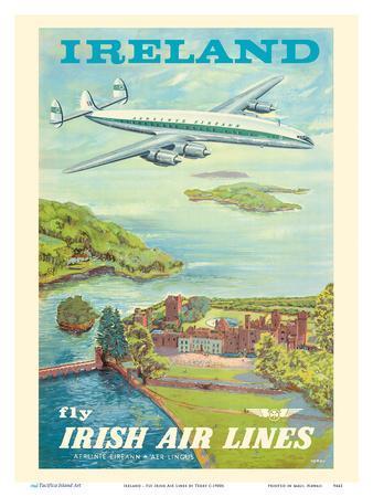 "Ireland - Fly Irish Air Lines - Lockheed Martin Constellation ""Connie"" Aircraft"