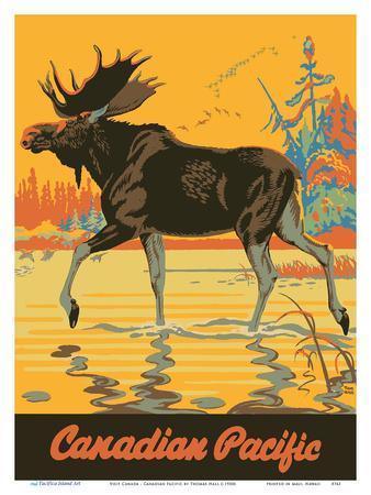 Visit Canada - Bull Moose - Canadian Pacific Railway