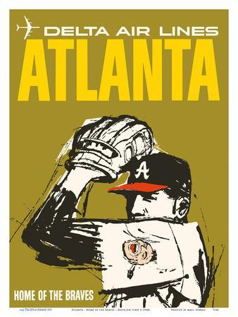 Atlanta - Home of the Braves - Delta Air Lines
