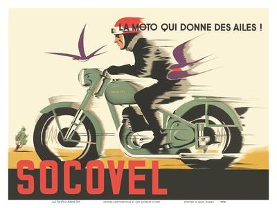 Socovel Motorcycles - The Moto Gives You Wings (La Moto Qui Donne Ailes)
