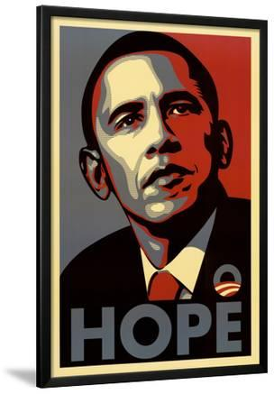 Barack Obama (Hope, Shepard Fairey Campaign) Art Poster Print