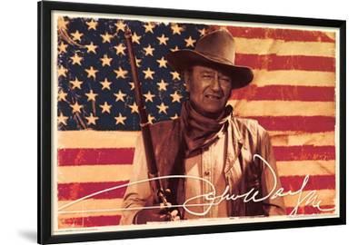 John Wayne- Flag