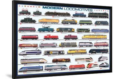 Modern Locomotives