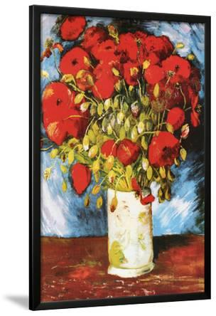 Vincent Van Gogh Poppies Art Print Poster