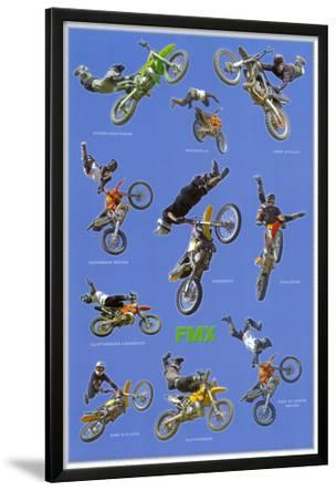 Freestyle Motocross (Riders in Air, FMX) Sports Poster Print