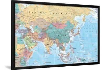 Middle East and Asia map