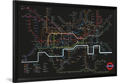 Transport For London - Black Map