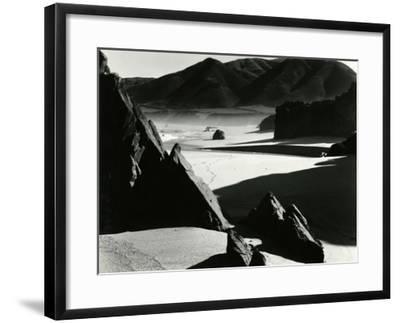 Garrapata Beach, California, 1954