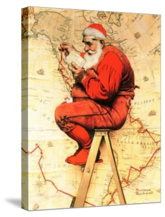 """""""Santa at the Map"""", December 16,1939"""