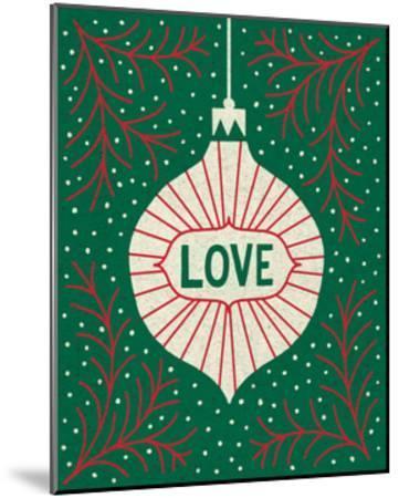 Jolly Holiday Ornaments Love