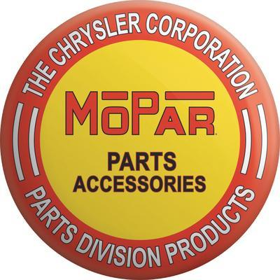 Mopar Parts Tin Button Sign