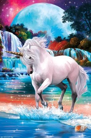 PD Moreno: Fine Art - Unicorn