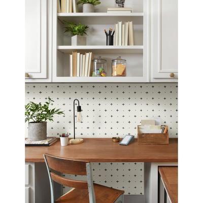 Magnolia Home Cross Stitch Removable Wallpaper
