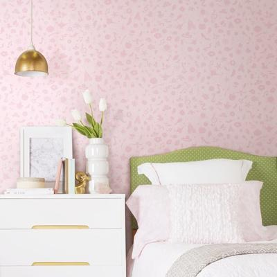 DISNEY PRINCESS ICONS (WITH GLITTER) REMOVABLE WALLPAPER
