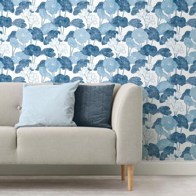 LILY PAD REMOVABLE WALLPAPER