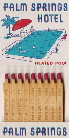 Palm Springs Hotel Matchbook