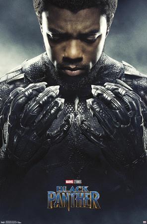 Marvel Cinematic Universe: Black Panther - Black Panther One Sheet