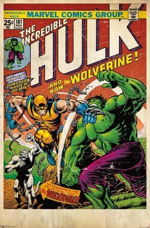 24X36 Marvel Comics - Wolverine - Cover