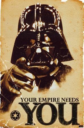 24X36 Star Wars: Saga - Empire
