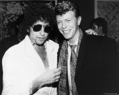 Bob Dylan and David Bowie