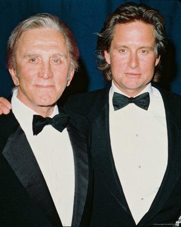 Michael Douglas & Kirk Douglas