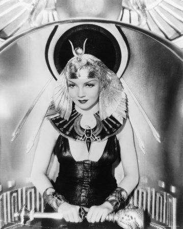 Claudette Colbert - Cleopatra
