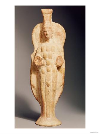 Statuette of the Goddess Artemis of Ephesus, Roman, 1st Century AD