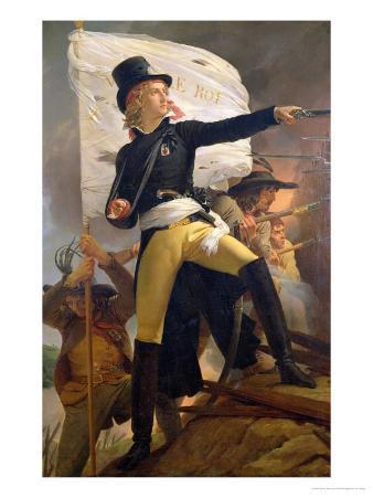 Henri De La Rochejaquelein (1772-94), Leader of the Revolt in the Vendee, 1817