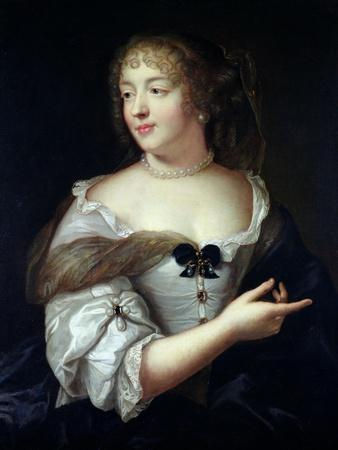 Portrait of Marie De Rabutin-Chantal, Madame De Sevigne (1626-96)