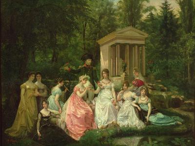 The Rose of Malmaison, circa 1867