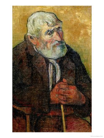 Portrait of an Old Man with a Stick, 1889-90