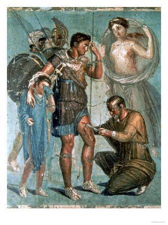 Aeneas Injured, from Pompeii