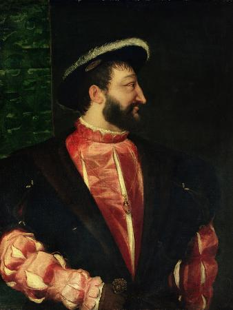 Portrait of Francis I (1494-1547) 1538