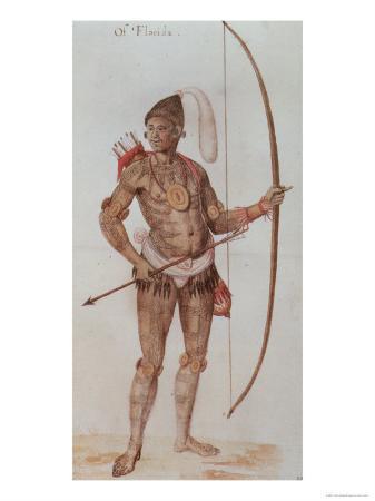 Indian Man of Florida