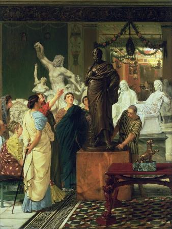 Dealer in Statues