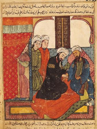 "A Medical Consultation, from ""The Book of Kalila and Dimna"" from ""The Fables of Bidpay"""