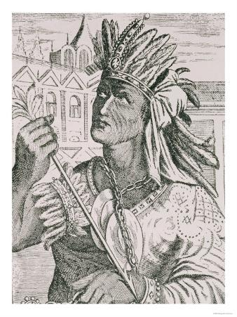 "The Last Inca Chief, Atahualpa, from ""The Narrative and Critical History of America"""