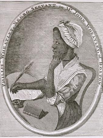 Portrait of Phillis Wheatley (circa 1753-84)