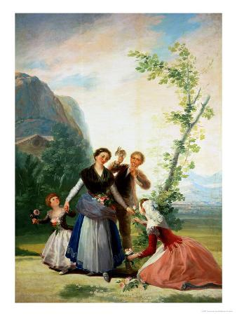 The Florists or Spring, 1786